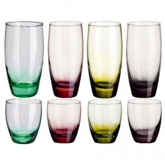 Kolorowe szklanki