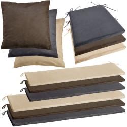 Poduszki na siedzisko i poszewki na poduszki Solid