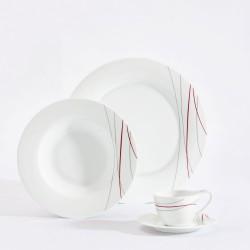 Zestaw porcelany PALLAIS Z DEKOR