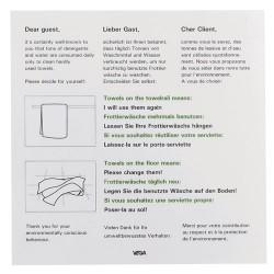 Instrukcja dotycząca użytkowania ręczników