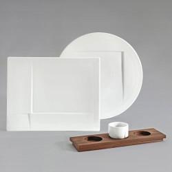 Zestaw porcelany ANGULO