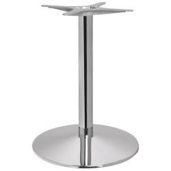 Podstawy do stołu, okrągłe, chromowane