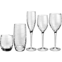 Zestaw szklanek kryształowych virtual