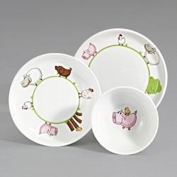 Zestaw porcelany dla dzieci KLECKERBANDE