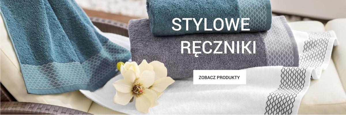 Stylowe ręczniki