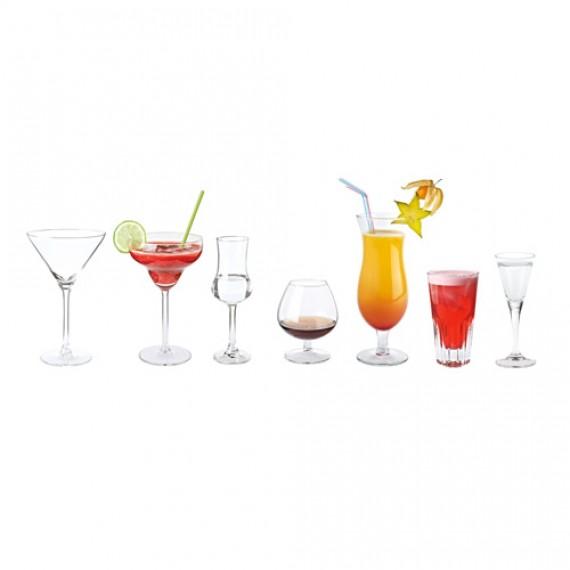 Kieliszki do drinków i czystych alkoholi