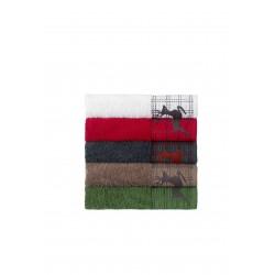 Seria ręczników Zermatt z haftem
