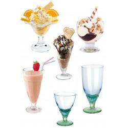 Pucharki lodowe i deserowe