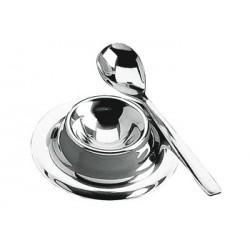Kieliszek do jajek Ballo z łyżeczką